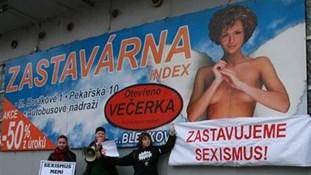 Reklama společnosti INDEX ČECHY s. r. o. z roku 2009. Zdroj: www.idnes.cz
