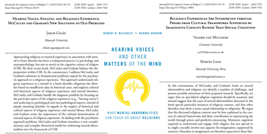Komentáře ke knize Hearing Voices and Other Matters of the Mind