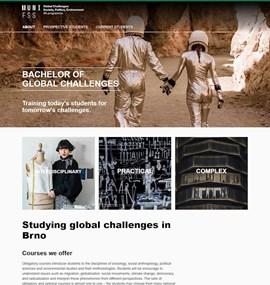 Global Challenges: Society, Politics, Environment | BA programme | MUNI FSS