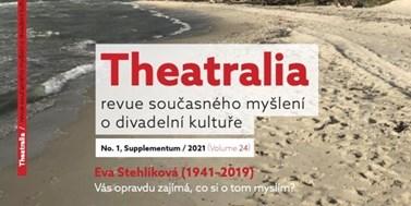 Theatralia Supplementum 1/2021