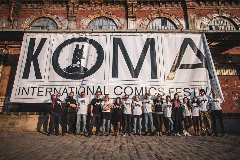 Na komiksovém festivalu Koma se Andrea Stašková podílela jako organizátorka, měla na starosti například koordinaci dobrovolníků. Foto: archiv Andrey Staškové