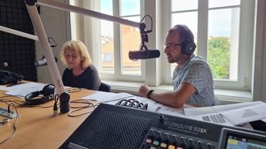 Alena Klapalová a Radoslav Škapa povídají o oběhovém hospodářství.