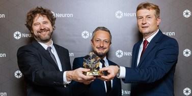 Nadační fond Neuron udělil cenu vědcům zMU