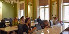 """Monika Brusenbauch Meislová se 24. září zúčastnila konference """"The 2nd Annual Anglo-American Studies Roundtable"""""""