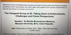 Britské ministerstvo zahraničních věcí pozvalo Moniku Brusenbauch Meislovou, aby na jeho půdě vystoupila sexpertní přednáškou