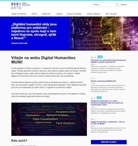 Digital Humanities | MUNI PHIL
