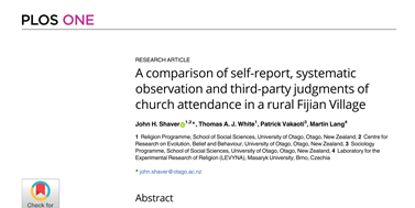 How to measure ritual attendance accurately?