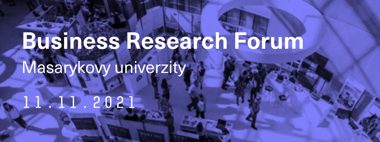 Business Research Forum Masarykovy univerzity