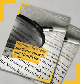 Brünner Beiträge zur Germanistik und Nordistik