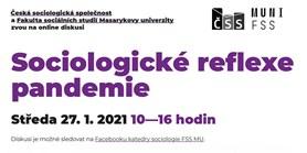 Tři debaty na téma pandemie pořádají sociologové