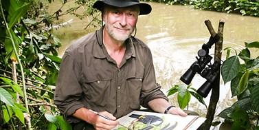 Zoolog-malíř: Jan Dungel maluje zvířata v Amazonii