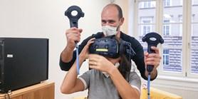 Úkoly pro výuku ve virtuální realitě vznikají na MU