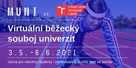Virtuální běžecký souboj univerzit MU vs. VUT