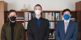 Držitele prestižních grantů ERC ocenil rektor MU Martin Bareš