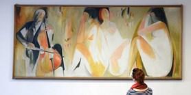 Malíře Lacinu připomíná na filozofické fakultě obraz