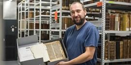 Knihovna na filozofické fakultě opatruje iknihuz15.století