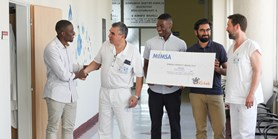 International med students raise over 100,000 crowns for paediatric oncology