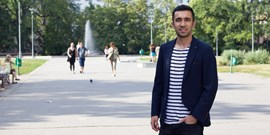 A young Turk fell in love with Czechia on Erasmus. Now he is a Muni student