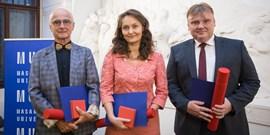 Nejlepší učitelé Muni převzali ceny rektora