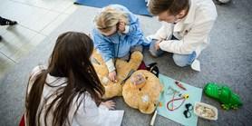 Medici v akci: Studenti vysvětlovali, jak pečovat o zdraví