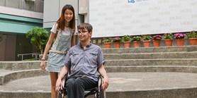 I na vozíčku na rok za studiem do Hongkongu