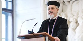 The Russian historian Andrei Zubov receives an honorary doctorate from MUNI