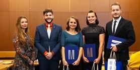 Vysokoškoláci ocenili nejlepší učící studenty Masarykovy univerzity