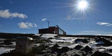 Research in Antarctica monitors climate