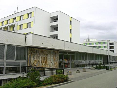 Budova SKM, Vinařská 5, blok A2, Hlavní vstup do budovy A2