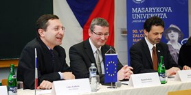 Oslavy 10. výročí existence česko-francouzského studia oboru Administration Publique