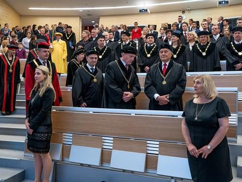 2019-05-23 Slavnostní obřad udílení pamětních medailí LF MU