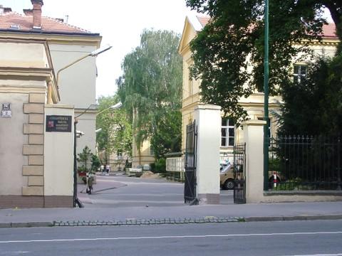 Budova PřF, Kotlářská 2, pavilon 11, Vrátnice - vchod do areálu PřF