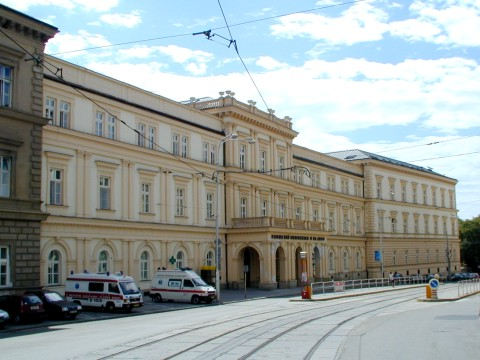 Budova LF, FNUSA, Pekařská 53, pavilon C, Budova nemocnice U svaté Anny