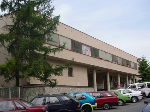 Budova LF, FN Brno, Černopolní 9, pavilon F,