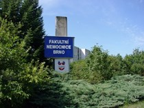 Budova LF, FN Brno, Jihlavská 20, pavilon E, Cedule
