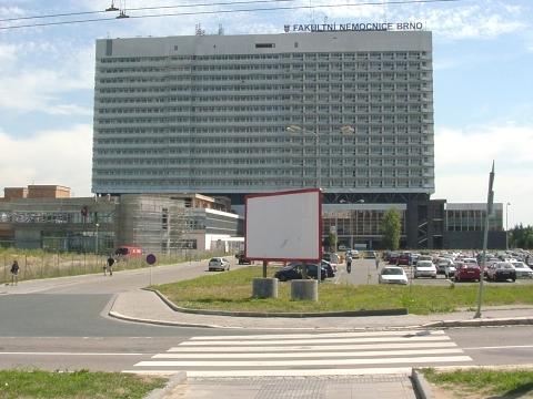 Budova LF, FN Brno, Jihlavská 20, pavilon L, Fakultní nemocnice Brno
