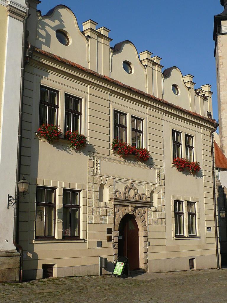 Budova UCT, Telč, nám. Zachariáše z Hradce, Náměstí