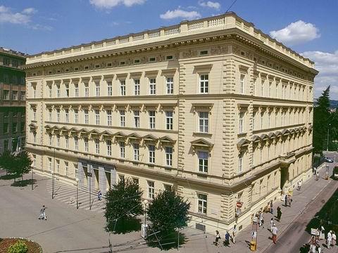 Budova RMU, Žerotínovo nám. 9, Budova rektorátu