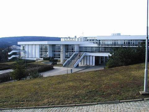 Budova SKM, Vinařská 5, blok A1, Koleje a menza, blok A1